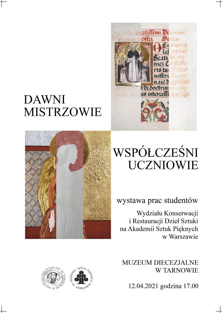 wystawa prac studentów Wydziału Konserwacji, Muzeum Diecezjalne wTarnowie
